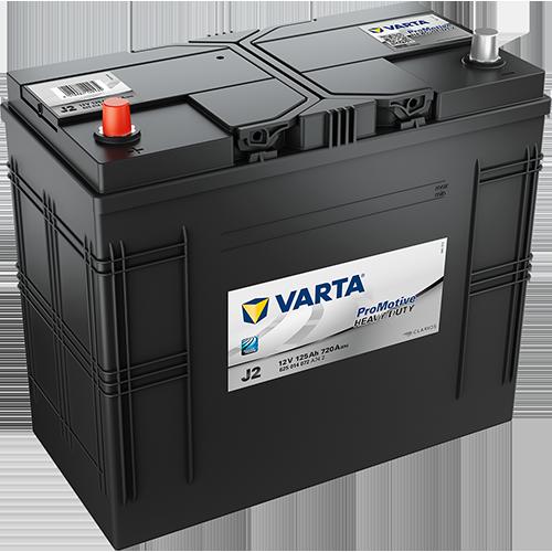 Автомобильный аккумулятор АКБ VARTA (ВАРТА) Promotive HD 625 014 072 J2 125Ач