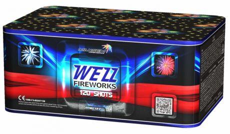 "Батареи салютов ""WEZZ FIREWORKS"" 120 залпов"