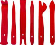 AURTS6 Набор приспособлений для демонтажа декоративных панелей салона автомобиля, 6 предметов