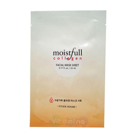 Etude House Маска для лица с коллагеном Moistfull Collagen Mask Sheet