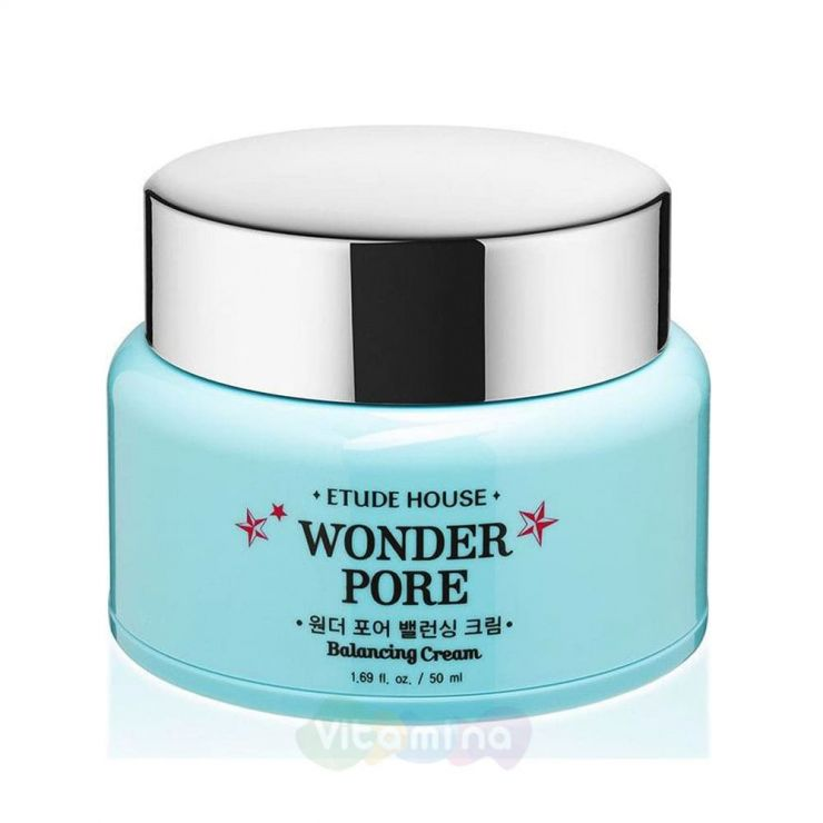 Etude House Крем балансирующий для жирной кожи Wonder Pore Balancing Cream, 50 мл