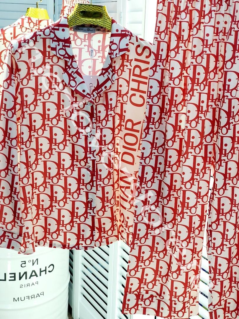 622006-Цена за 3 шт. Пижама двоечка Dior (M,L,XL)