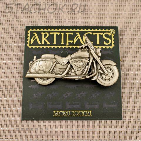 "Брошь ""Мотоцикл Harley Davidson"" (JJ США)"