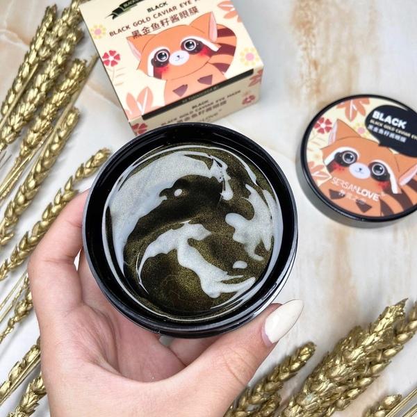 Гидрогелевые патчи SerSen Love Black Gold Caviar Eye Patch (1412200)
