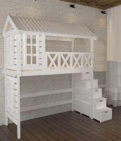 Кровать-чердак Домик Fairy Land Standard (любые размеры)