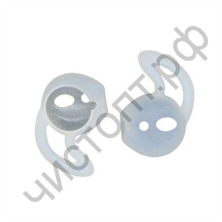 Накладки силиконовые для APods с ушком белые цена за пару