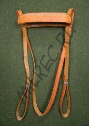 Крышка бинокля с ремешком (реплика) коричневая кожа