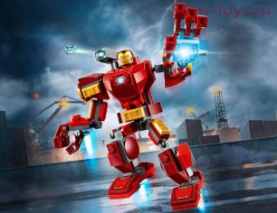 Конструктор Lari Супер Герои Железный Человек: трансформер 11503 (76140) 154 дет