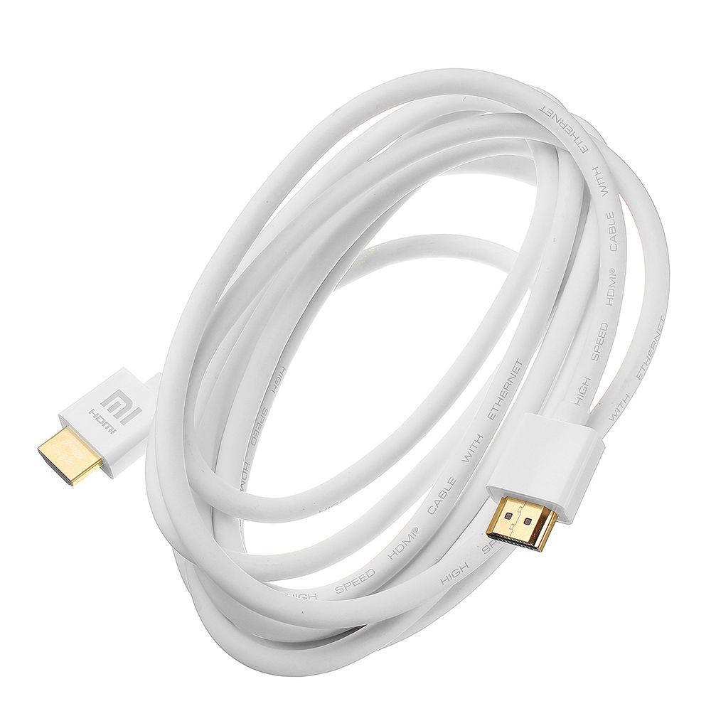 Кабель HDMI Xiaomi HDMI XY-H-3 4K H (3 м. Белый )