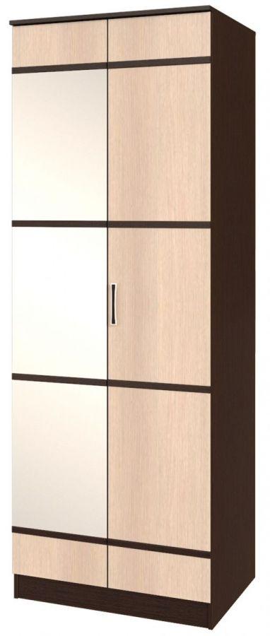 Сакура шкаф платяной бельевой 2-х створчатый БТС
