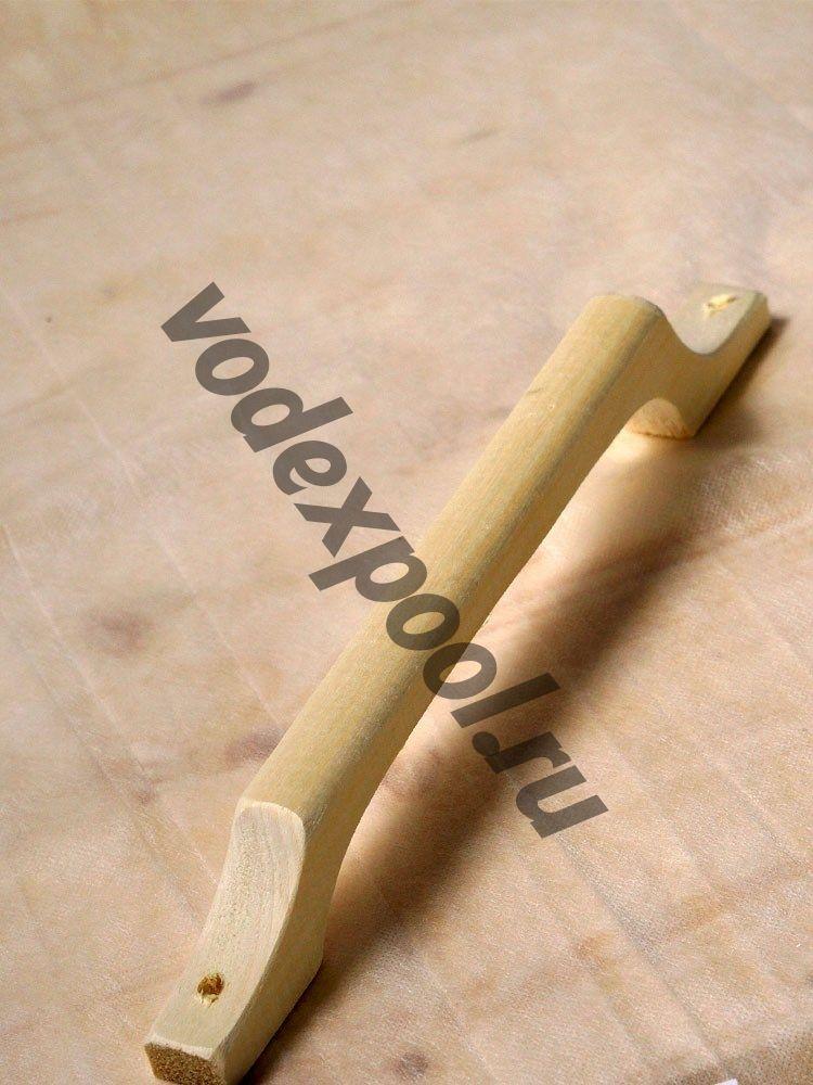 Ручка дверная большая из дерева