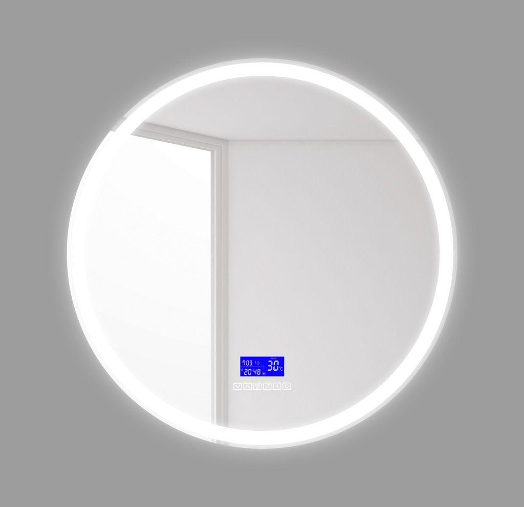 Зеркало для ванной комнаты BelBagno SPC-RNG-800-LED-TCH-RAD ФОТО