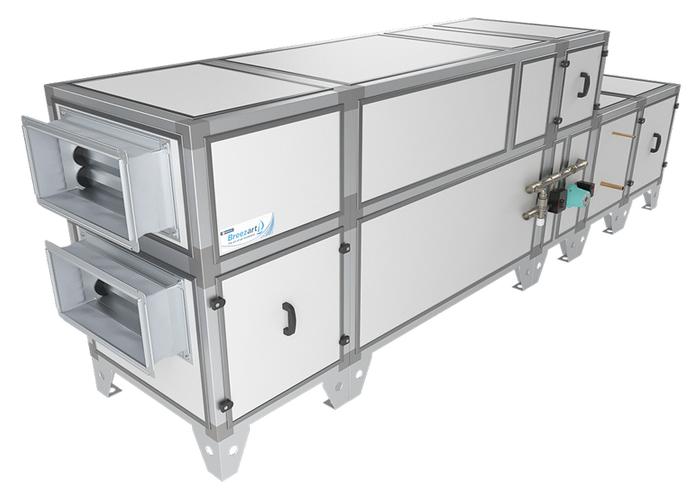 Приточно-вытяжная установка Breezart 2000 Aqua RP F PB