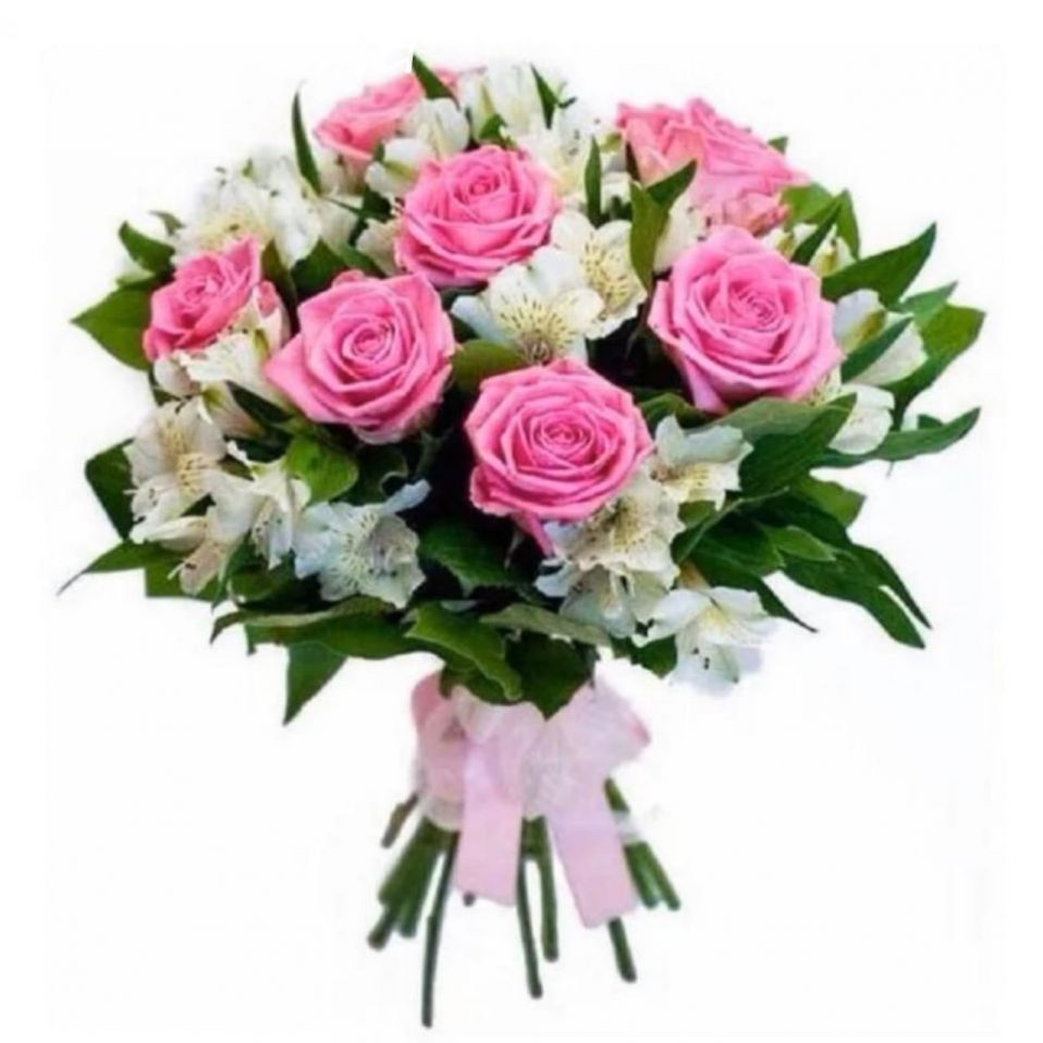 "Микс ""АльстраРоуз"" 21 цветок"
