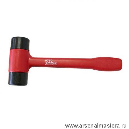 Молоток безынерционный для рихтовки с пластиковой ручкой красной 270 мм 221 гр Narex 875001