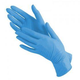 Перчатки нитриловые S 100шт (50пар) голубые