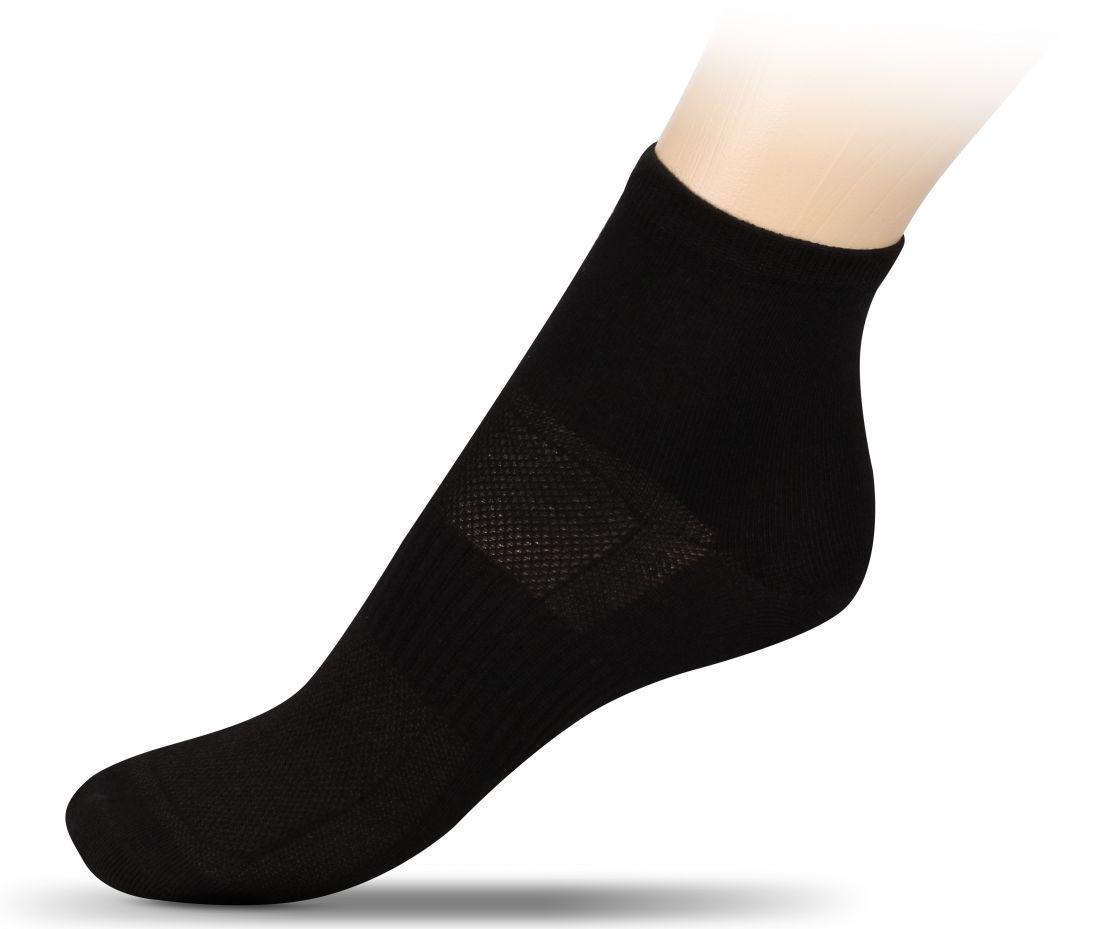 Носки спортивные средние (хлопок) INDIGO ЛВ18-1 черные