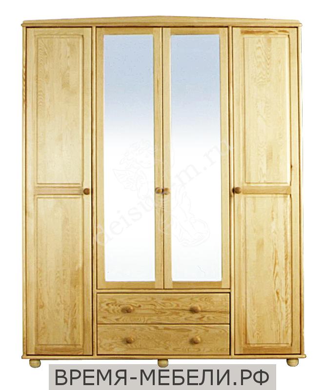 Шкаф Бьянка-М с зеркалом