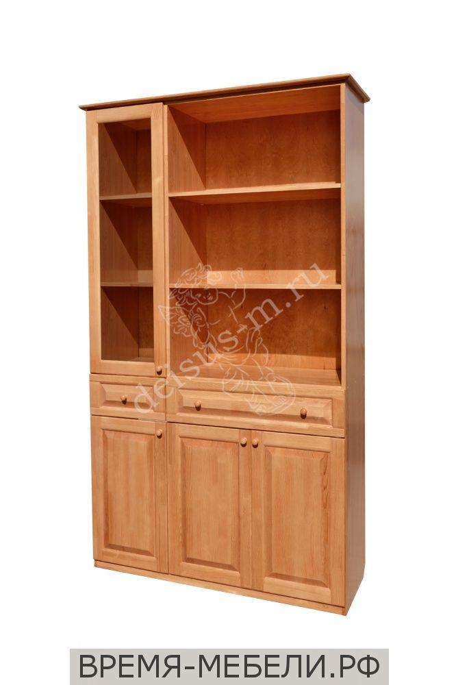 Шкаф книжный Аккорд-М