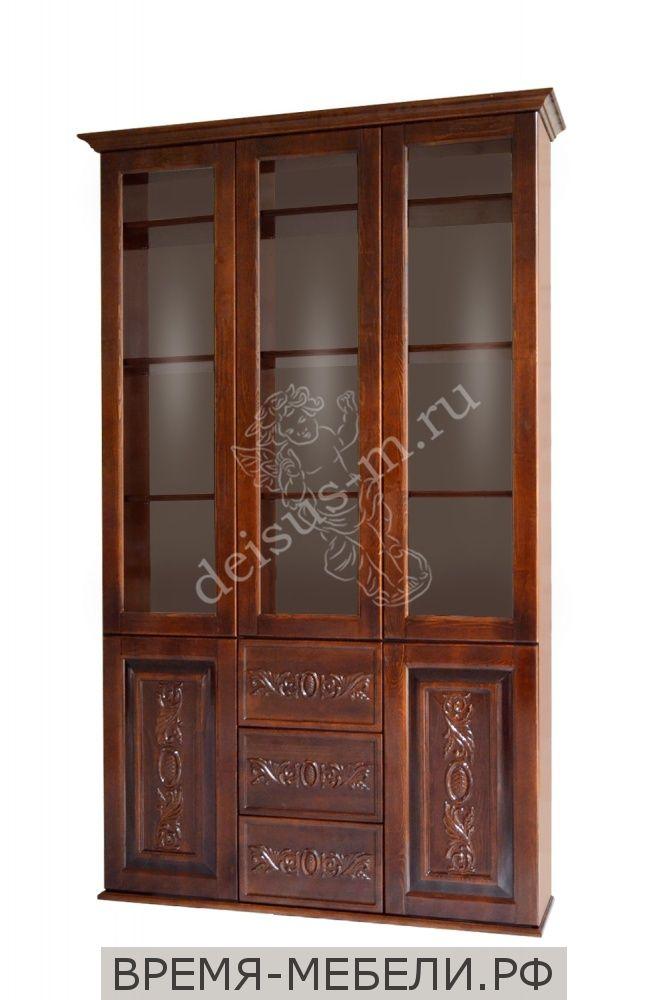 Шкаф книжный Амина-М