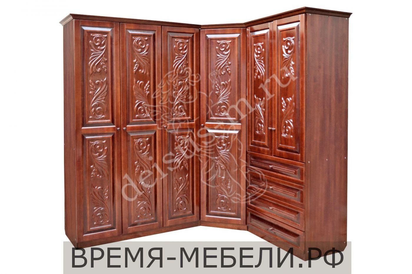 Шкаф угловой Фарида-М 1