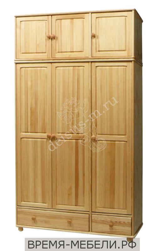 Шкаф Юность-М трехстворчатый