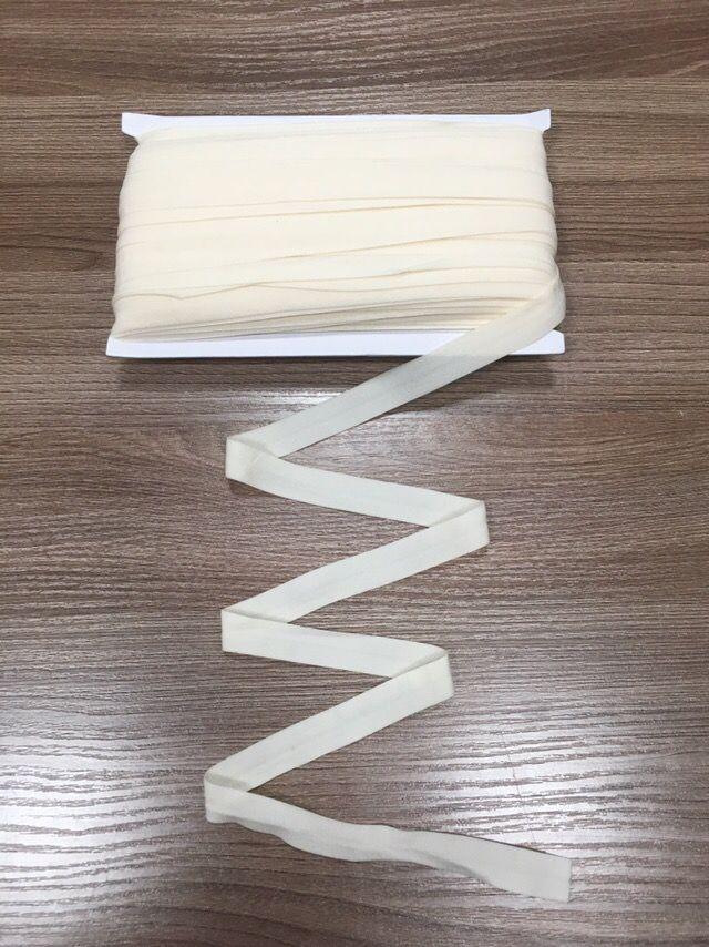 окантовочная резинка-бейка экрю