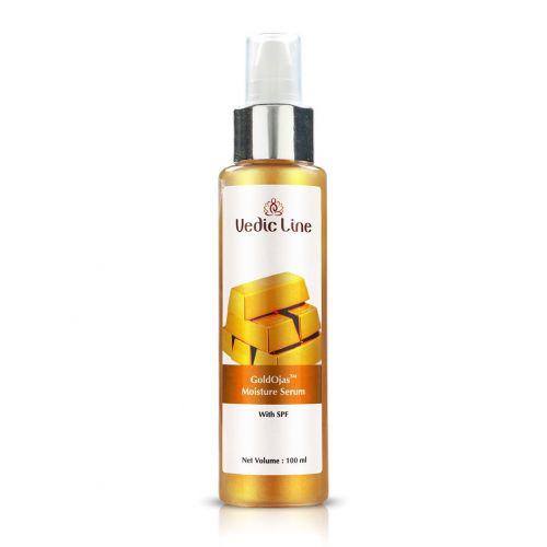 Сыворотка для лица увлажняющая Аура золота | Gold Ojas moisture serum | 100 мл | Vedic Line
