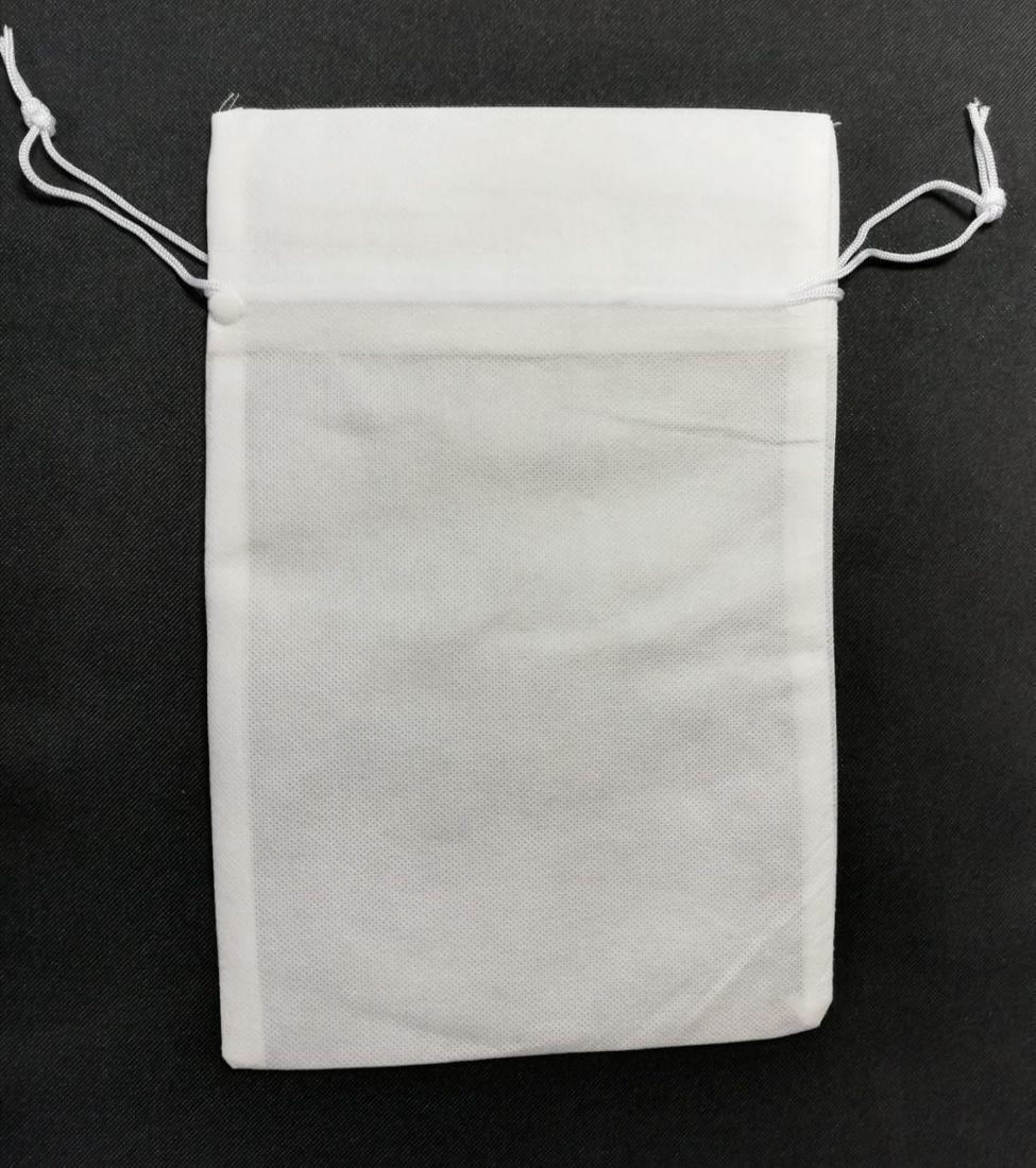 Мешочек подарочный белый 20х30см