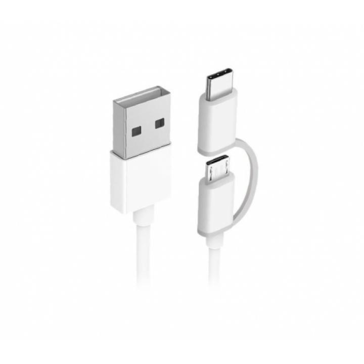 Кабель 2 в 1 USB Type-C/Micro Xiaomi Zmi 100 см (AL501)