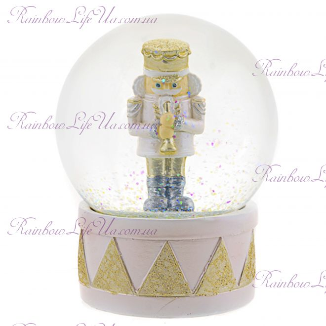 "Снежный шар стеклянный ""Щелкунчик"""