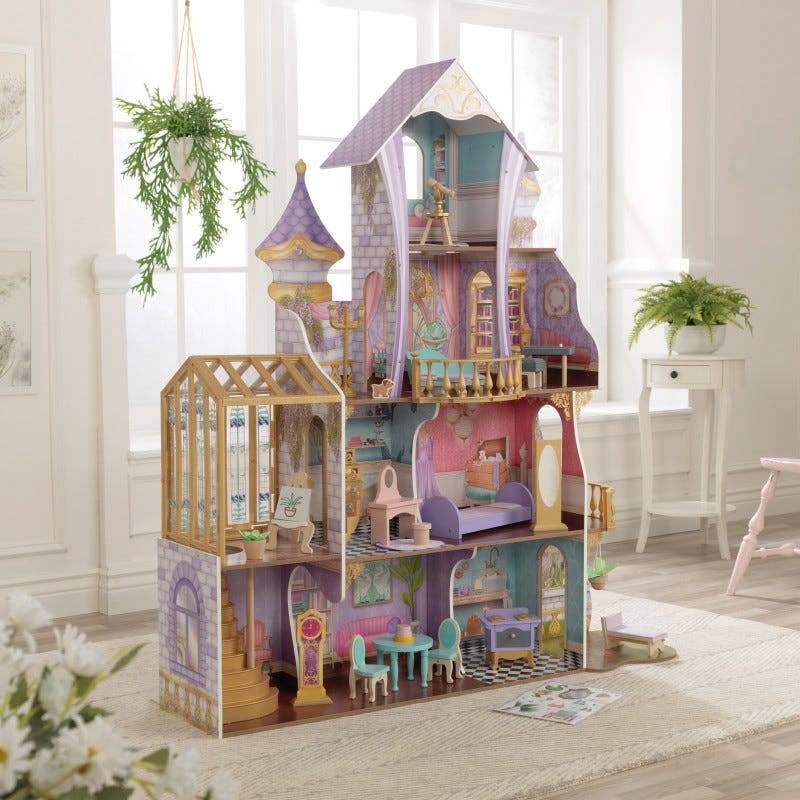 Кукольный домик Сказочный дворец и оранжерея KidKraft 10153