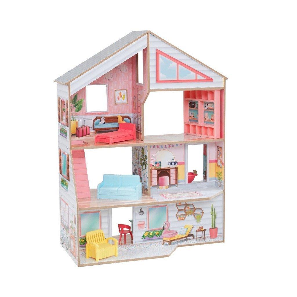Кукольный домик Чарли с мебелью (10 элементов) KidKraft 10064