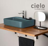 Раковина Cielo Shui Comfort SHCOLARF накладная или подвесная 60х43 схема 3