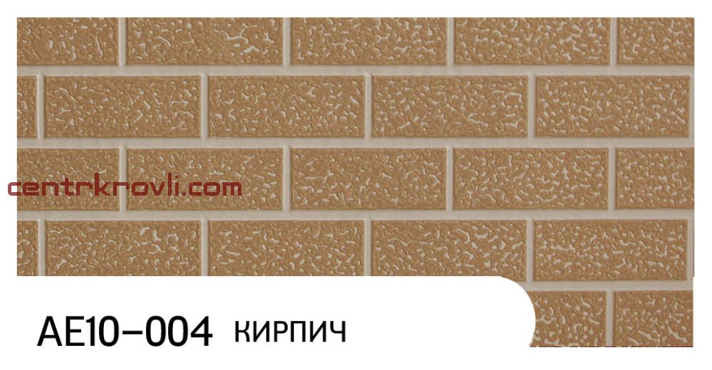 """Фасадная панель """"Zodiac"""" AE10-004; кирпич"""