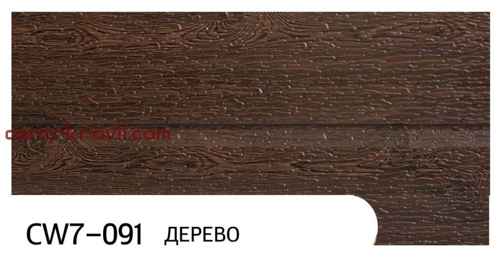"""Фасадная панель """"Zodiac"""" CW7-091; дерево"""