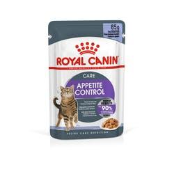 Royal Canin Appetite Control Care Влажный корм для для взрослых кошек в желе, 85 гр