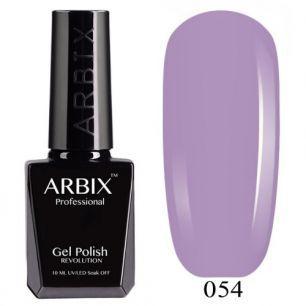 Гель лак  ARBIX № 54 Дикая Орхидея