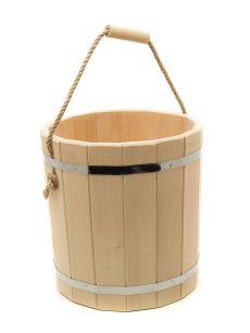 Ведро деревянное 10 л - все для сада, дома и огорода!