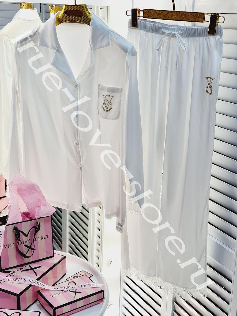 P_018  - цена за 3 штуки, Пижама двойка (тянутый шелк) (M,L,XL)