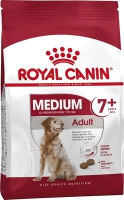 Royal Canin для пожилых собак средних размеров (11-25 кг): 7-10лет (Medium Adult 7-10)