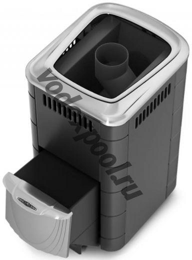 Печь для бани ТМФ Тунгуска 2017 Carbon нерж.дверца антрацит