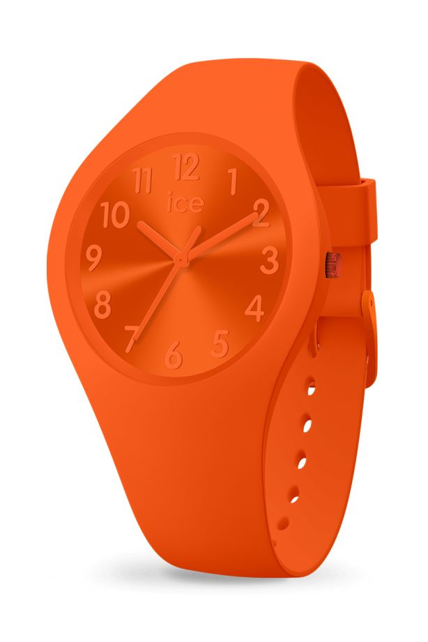 Ice Colour - Orange Tango with numbers