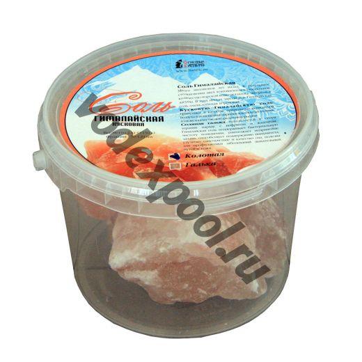 Соль колотая 2 кг, ведро
