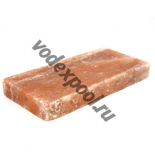 Плитка соляная 200мм*100мм*25мм сторона шлифованная