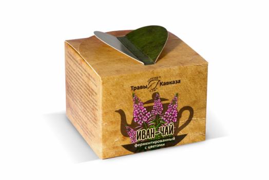 Иван-чай ферментированный с цветами