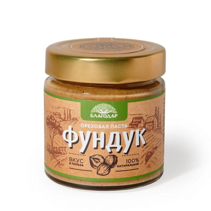 """Ореховая паста """"Фундук», 200 гр."""