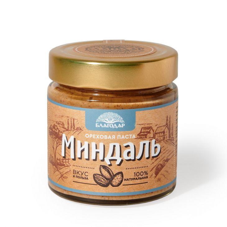 """Ореховая паста """"Миндаль», 200 гр."""