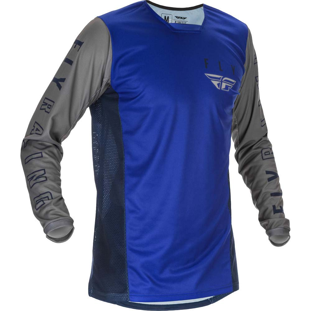 Fly Racing 2021 Kinetic K121 Blue/Navy/Grey джерси