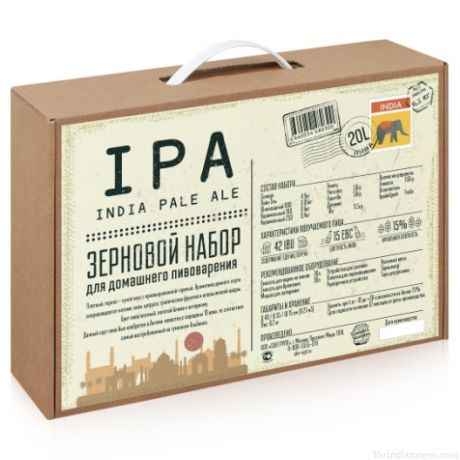 BrewBox «Indian Pale Ale» (Индиан Пэйл Эль) на 23 л пива